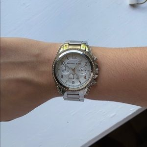 Michael Kors Blair Silver Watch